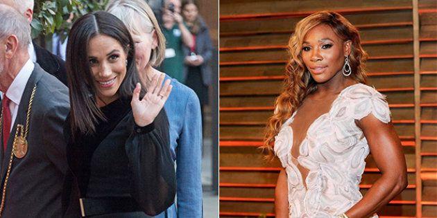 Serena Williams a Meghan Markle: