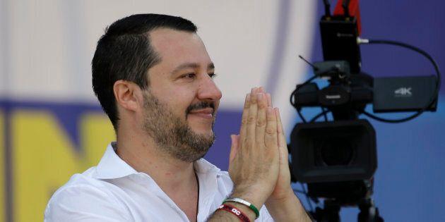 Obiettivo 100mila persone in piazza del Popolo. Matteo Salvini lancia la campagna elettorale per le Europee...