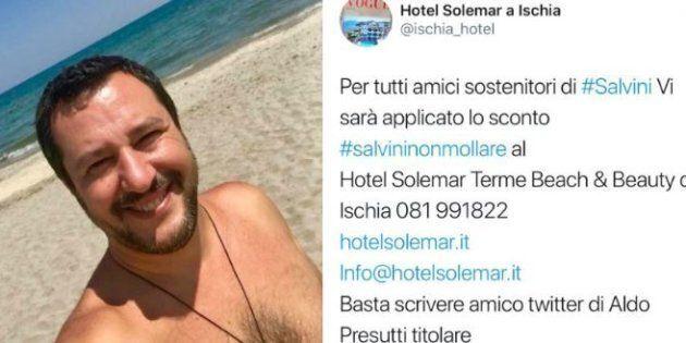 Aldo Presutto, titolare dell'albergo Solemar di Ischia: