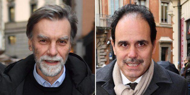 Capigruppo, il reggente Maurizio Martina mette la fiducia su Delrio e Marcucci: colomba e falco di sangue
