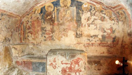 Il culto di San Thomas Becket nacque in Italia, ad Anagni, e da lì si diffuse. La tesi che