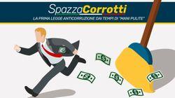 Il Movimento 5 stelle lancia lo #spazzacorrottiday per presentare il ddl contro la