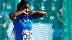 Daisy Osakue forse non può partecipare agli Europei per il troppo cortisone che sta