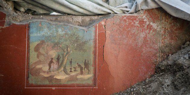 A Pompei riemerge la