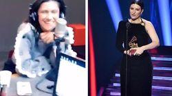 Elisa imita Laura Pausini in radio: la gag è