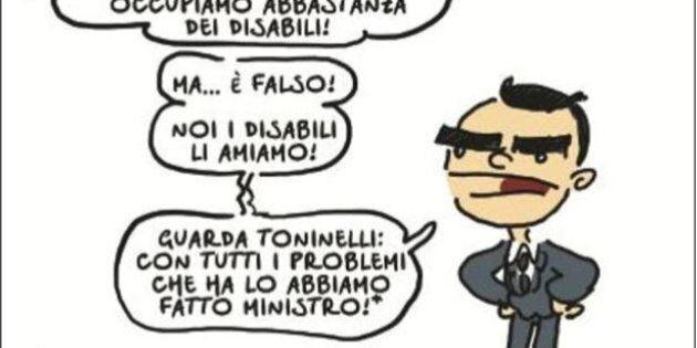 L'avvocato di Toninelli protesta contro Natangelo sul Fatto: