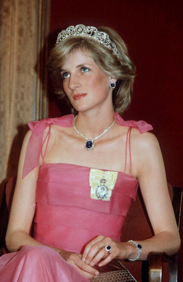 AUSTRALIA - APRIL 11: Princess Diana Wearing The Spencer Tiara And The Royal Family Order (a Gift From...