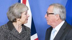 May umiliata dagli alti rappresentanti dell'Unione