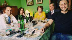 Di Maio a Pasqua con la famiglia.