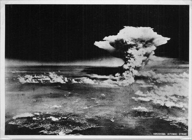 GIAPPONE: IL 6 AGOSTO 60 ANNIVERSARIO BOMBA ATOMICA SU HIROSHIMA . A handout photograph of the Hiroshima...