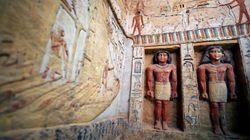 Scoperta in Egitto una tomba intatta dopo 4.400 anni decorata con geroglifici e