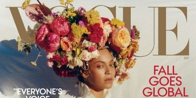 Beyoncé sulla copertina di Vogue mostra ogni cosa di sé in maniera