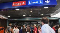 Fumo nei corridoi della stazione Termini di Roma: chiusa la fermata della metro