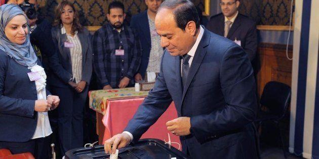 Il presidente Abdel Fattah Al Sisi al
