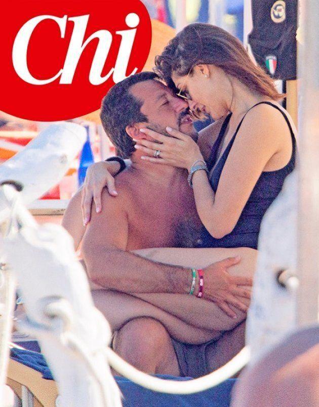 Matteo Salvini e Elisa Isoardi più innamorati che mai: gli scatti hot sotto il sole di Milano