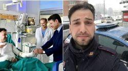 Chi è Riccardo Muci, il poliziotto eroe che ha rischiato la vita per salvare le persone