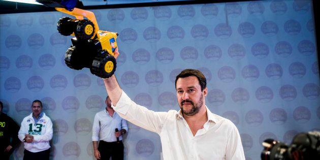 Matteo Salvini a 48 ore dalle consultazioni al Quirinale: