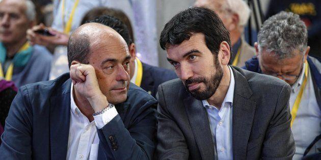 Nicola Zingaretti e Maurizio