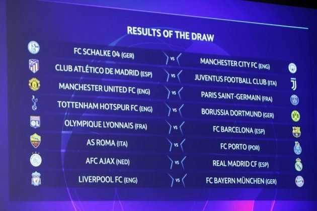 Sorteggio ottavi Champions League: Juve-Atletico Madrid,