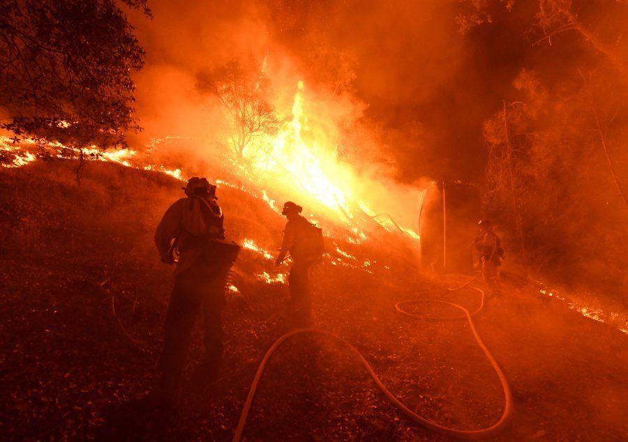 La California brucia, il polmone verde di Mendocino ridotto in