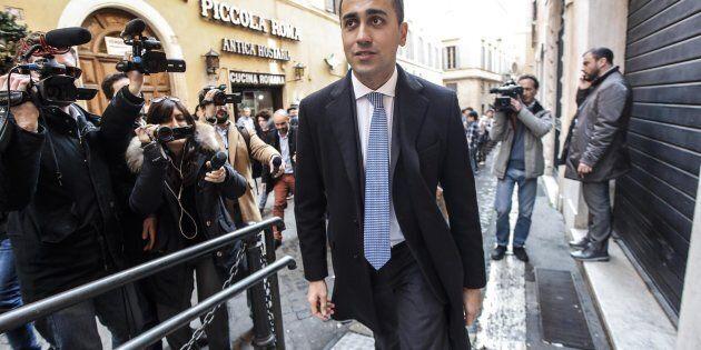 Il leader del Movimento 5 Stelle, Luigi Di Maio, in una recente immagine d'archivio. ANSA/GIUSEPPE