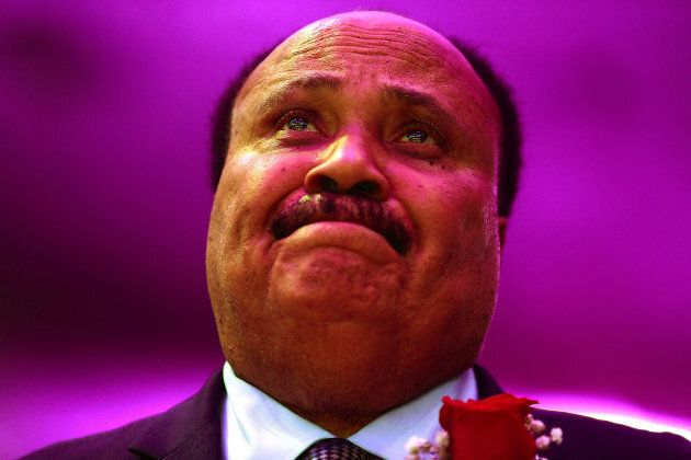MEMPHIS, TN - APRIL 03: Martin Luther King III the son of Martin Luther King, Jr., attends the I AM 2018...