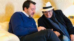 Salvini riceve Al Bano al Viminale insieme ad alcuni imprenditori