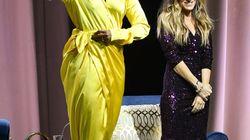 Michelle indossa stivali glitterati da 4mila dollari e fa impallidire Carrie di