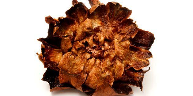 'Carciofi alla giudia (Jewish style artichokes), a traditional recipe of the roman jewish
