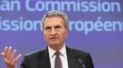 Gunther Oettinger non ce l'ha solo con l'Italia.
