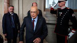 Giorgio Napolitano al fianco di Emma Bonino: