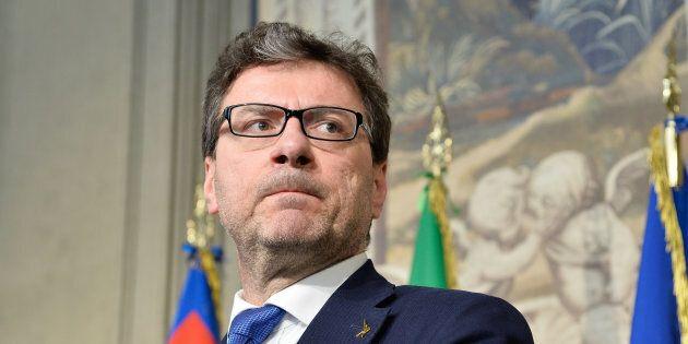 Giancarlo Giorgetti a Mezz'ora in più: