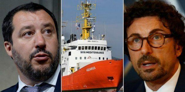 L'Italia scarica Aquarius: