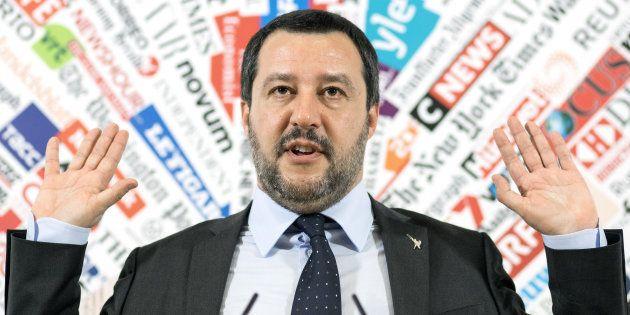 Matteo Salvini sulla manovra: