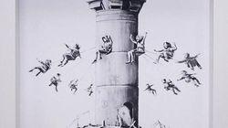 Sventato il furto di un'opera di Banksy in un museo