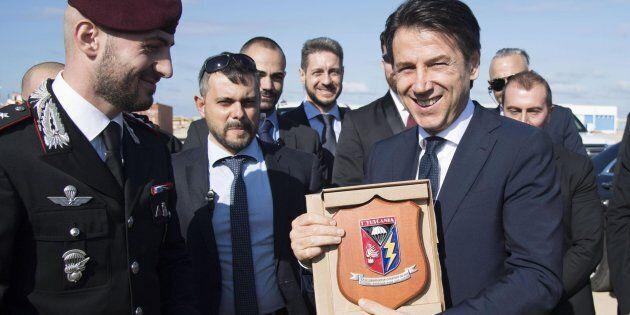 Missione in Libia, Conte fa