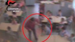 Una maestra di Monza picchiava i bimbi della materna:
