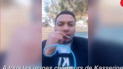 Reporter tunisino lancia un appello alla rivoluzione ai disoccupati e poi si dà