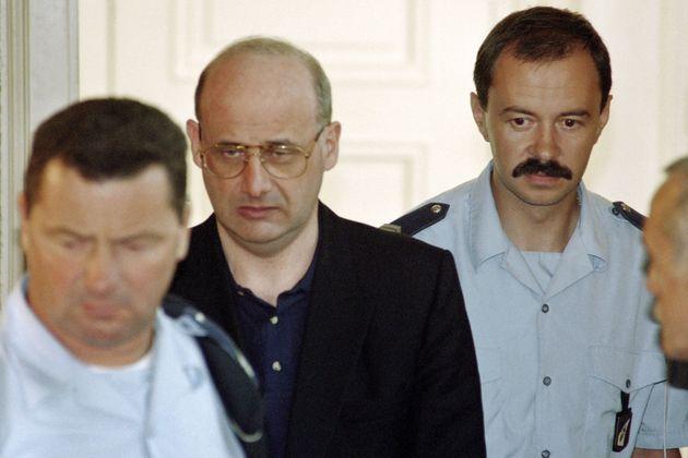 Jean-Claude Romand, fotografiado durante su juicio, en