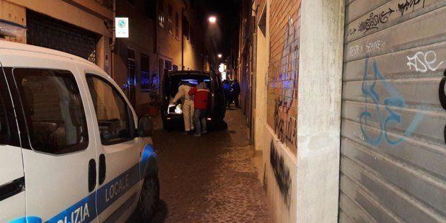 Il luogo dove è stato ucciso Marcello Bruzzese, 51 anni, calabrese di Rizziconi (Reggio Calabria), fratello...