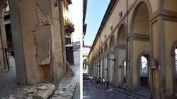 Danneggia con l'auto una colonna del Corridoio Vasariano a Firenze e fugge,