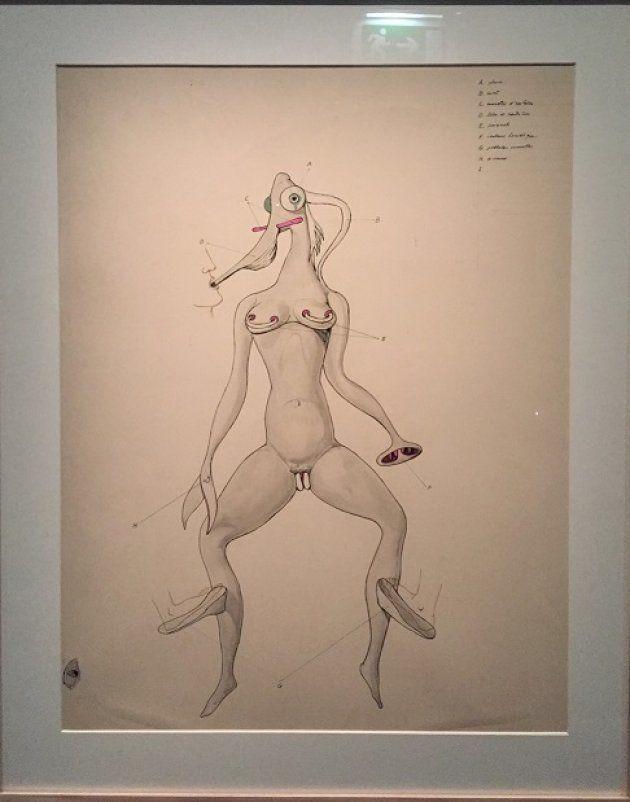 Victor Brauner, Anatomie du désir