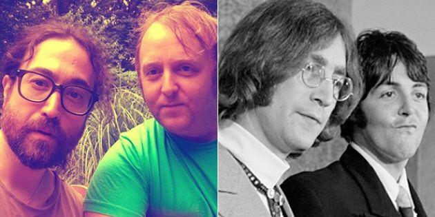Il selfie dei figli di Lennon e McCartney fa sognare i fan dei