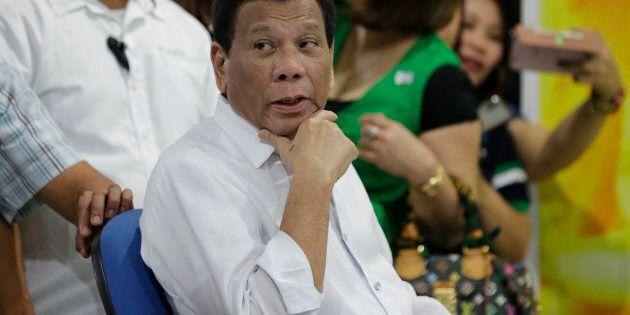 La confessione di Rodrigo Duterte: