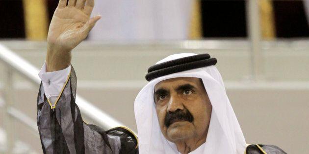 L'emiro del Qatar torna a Brindisi 21 anni dopo per ringraziare la signora Teresa che lo