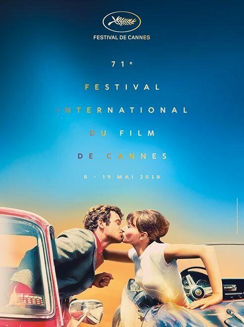 Cannes 2018: il poster ufficiale è un omaggio appassionato al cinema di