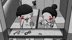 Queste adorabili illustrazioni catturano i piccoli momenti intimi