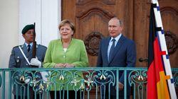 Putin incontra Merkel: