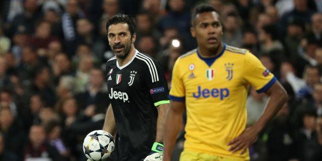 Soccer Football - Champions League Quarter Final Second Leg - Real Madrid vs Juventus - Santiago Bernabeu,...