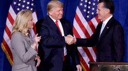 Mitt Romney contro Donald Trump: